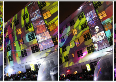 Projection Mapping Photo Layout