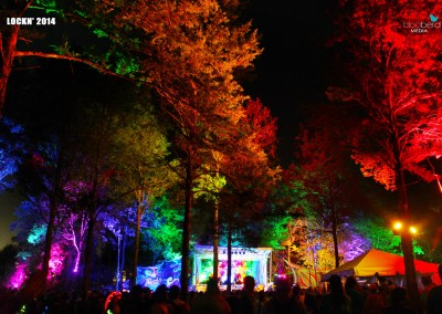 SJP: Triangle Stage Lighting at Lockn 2014