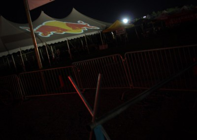 SJP: Red Bull Sponsorship Tent Projections
