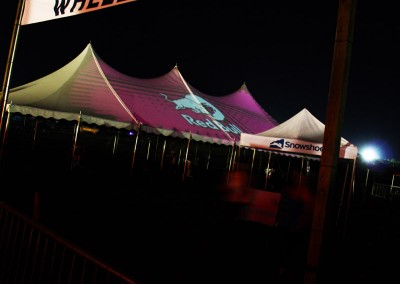 SJP: Projection Mapping Red Bull Branding, Wheelhouse @ Lockn 2014