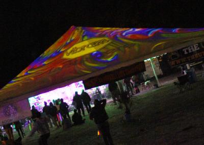Aura Music Festival 2014: Vibram Sponsor Visibility