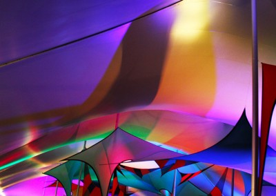 SJP: VIP Tent Uplighting Festival Decor Gathering of the Vibes 2014