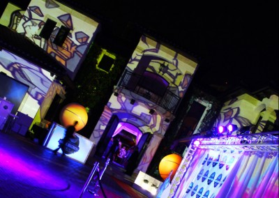 Projection Mapping Front