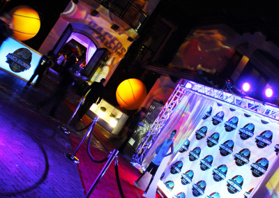 Projection Mapping Front Entrance