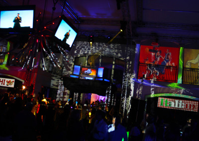Projection Mapping Basketball Theme