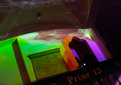 Projection Mapping Lobby