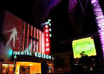 Fort Myers Edison Theatre Projection Mapping