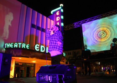 Fort Myers Projection Mapped Theatre
