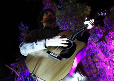Sam Jam Purple Guitar